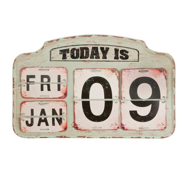 Beżowy kalendarz Clayre & Eef