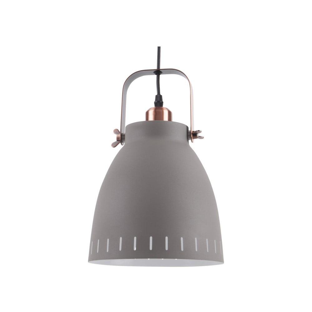 Duża szara lampa wisząca Leitmotiv Mingle