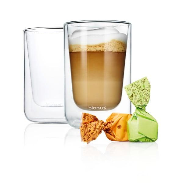 Komplet szklanek Blomus Cappuccino, 2 szt.