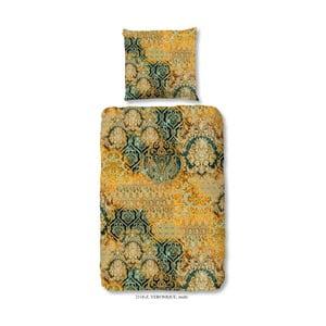 Pościel jednoosobowa z satyny bawełnianej Muller Textiels Prasila, 140x200 cm