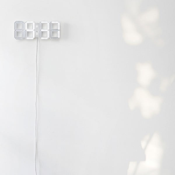 Biały zegar LED - Vadim Kibardin, 5 m