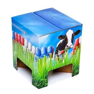 Taboret Dutch Design Chair World Tulips