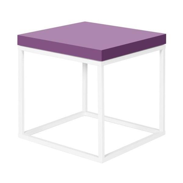Stolik z fioletowym blatem TemaHome Prairie