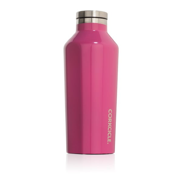 Różowa   butelka termiczna Root7 Canteen, 260 ml