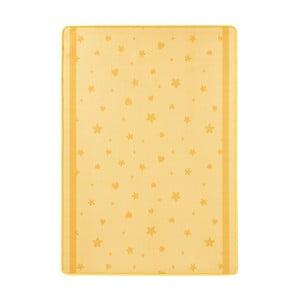 Żółty dywan dziecięcy Hanse Home Stars&Hearts, 100x140 cm