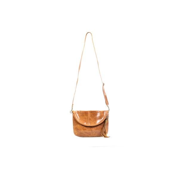 Skórzana torebka Tina, cognac