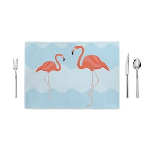 Mata kuchenna Home de Bleu Flamingo Friends, 35x49 cm
