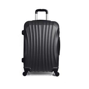 Czarna walizka na kółkach Hero,31l