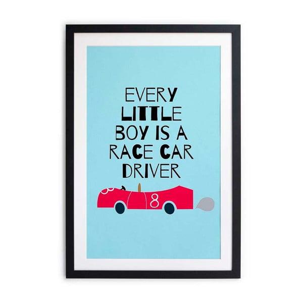 obraz little nice things race car 40x60 cm bonami. Black Bedroom Furniture Sets. Home Design Ideas