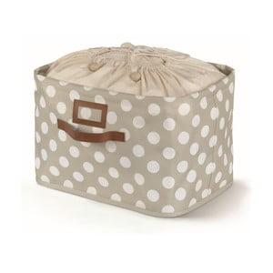 Beżowe pudełko zawiązywane Cosatto Jolie, 25x40 cm