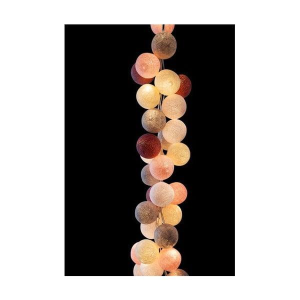 Girlanda świetlna Marshmallow, 20 światełek