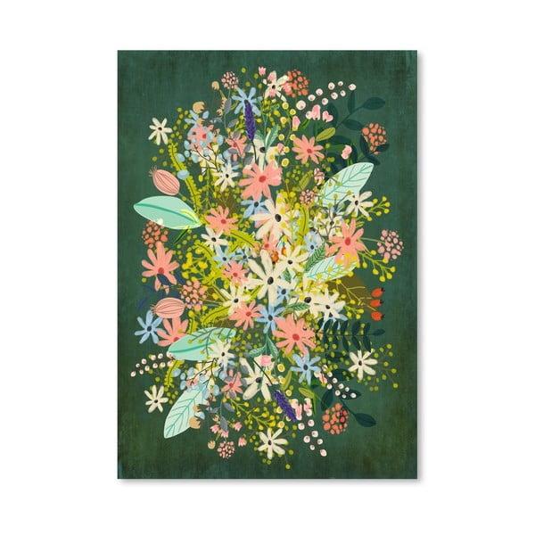 Plakat (projekt: Mia Charro) - Flowers