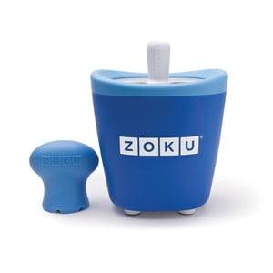 Niebieska maszynka do lodów Zoku Single