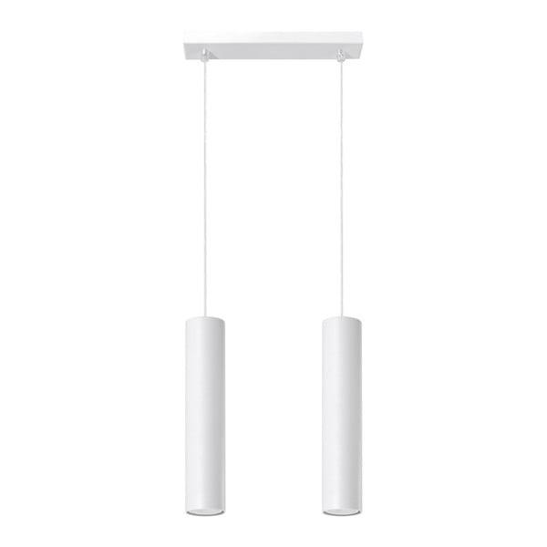Biała lampa wisząca Nice Lamps Castro 2