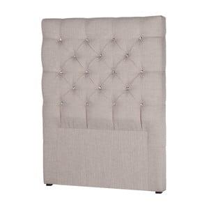 Jasnoszary zagłówek łóżka Stella Cadente Pegaz, 90x118 cm