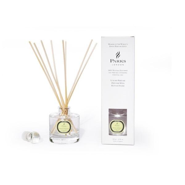 Dyfuzor zapachowy Parks Candles London, zapach kwiatów lipy i mimozy