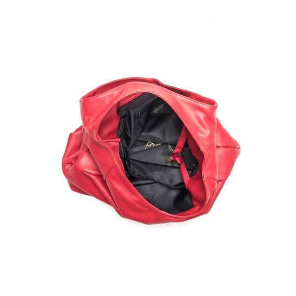 Skórzana torebka Isabella Rhea 2106 Rosso