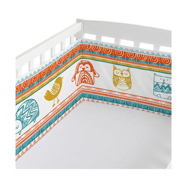 Ochraniacz do łóżeczka Teepee, 70x70x70 cm