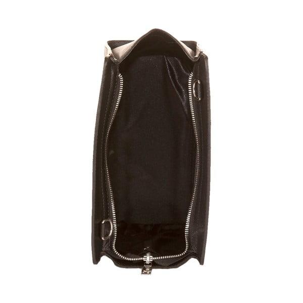 Czarna torebka skórzana Andrea Cardone Mattia