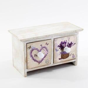 Pudełko na biżuterię Lavender Heart