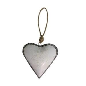 Dekoracja wisząca Light Heart, 16 cm