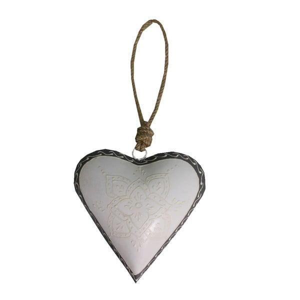 Serce dekoracyjne Antic Line Light Heart, 16 cm