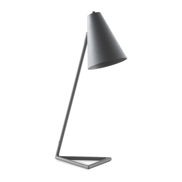 Szara lampa stołowa Geese Simple