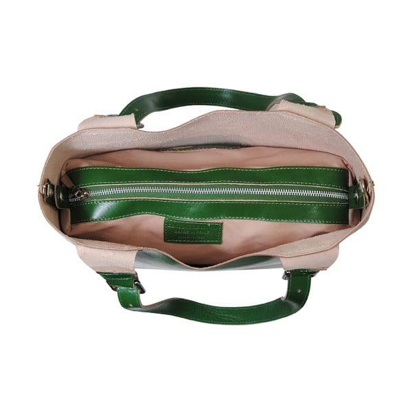 Zielona torebka skórzana Andrea Cardone Stefano