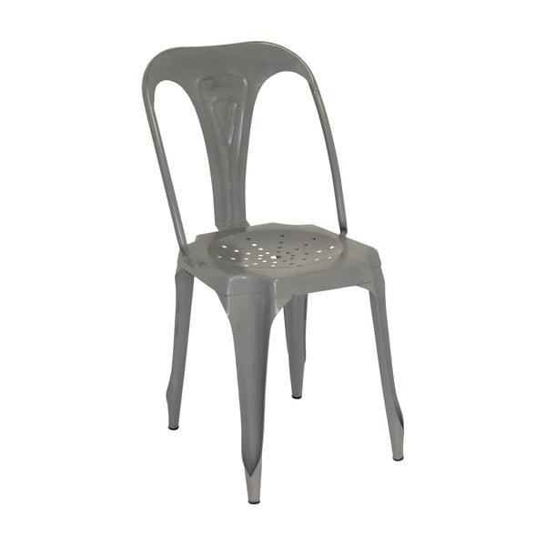 Metalowe krzesło Grey