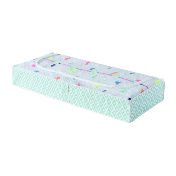 Zielony organizer pod łóżko Compactor, dł. 107 cm