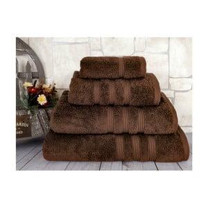 Ciemnobrązowy ręcznik Irya Home Classic, 30x50 cm
