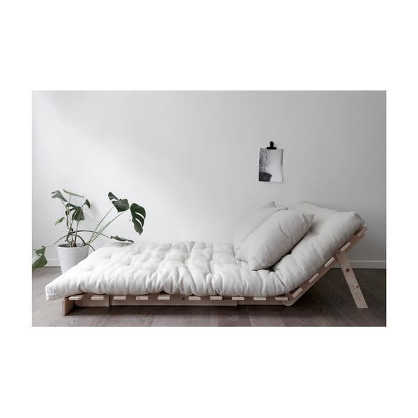 Sofa wielofunkcyjna Karup Design Roots White/Yellow