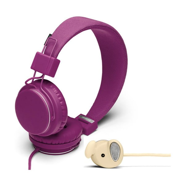 Słuchawki Plattan Grape + słuchawki Medis Cream GRATIS