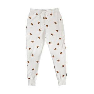 Białe spodnie chłopięce Snurk Winternuts, 104