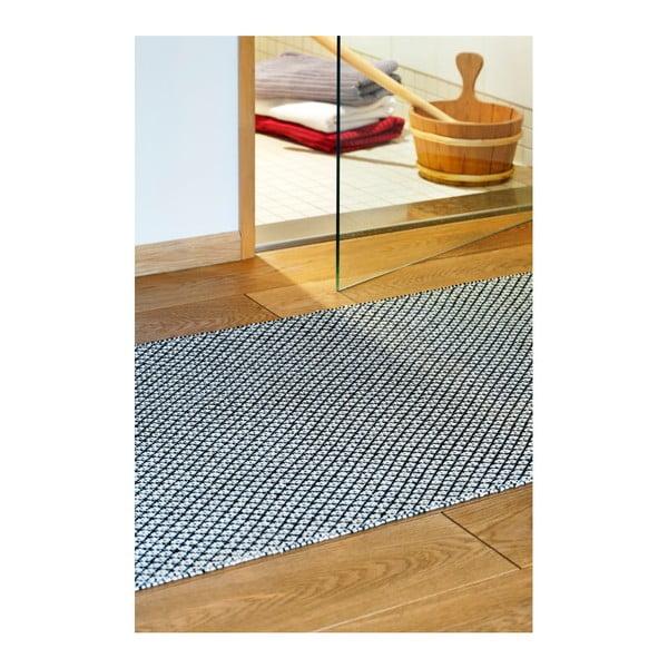 Kremowo-czarny dywan odpowiedni na zewnątrz Narma Diby, 70x100cm