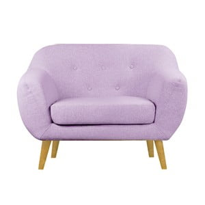 Różowy fotel Helga Interiors Oslo