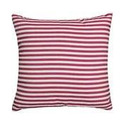 Poduszka Stripe Red, 45x45 cm