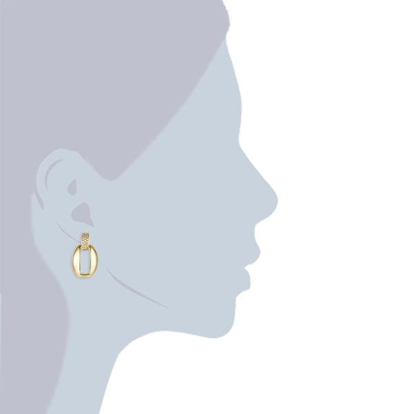 Kolczyki z kryształami Swarovski Lilly & Chloe Inés