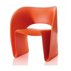 Pomarańczowy fotel Magis Raviolo