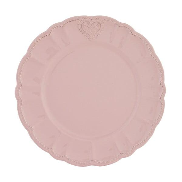 Ceramiczny talerz Roses, 26 cm