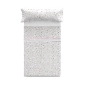Poszewka na poduszkę z prześcieradłem Pooch Asterisk Coral, 125x45cm