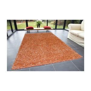 Pomarańczowy dywan Webtappeti Shaggy, 60x100cm