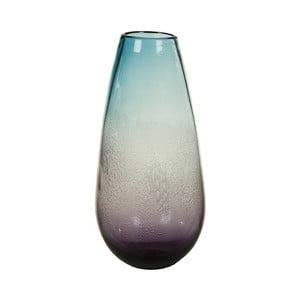 Niebieski wazon kryształowy Santiago Pons Ryde, Ø18cm