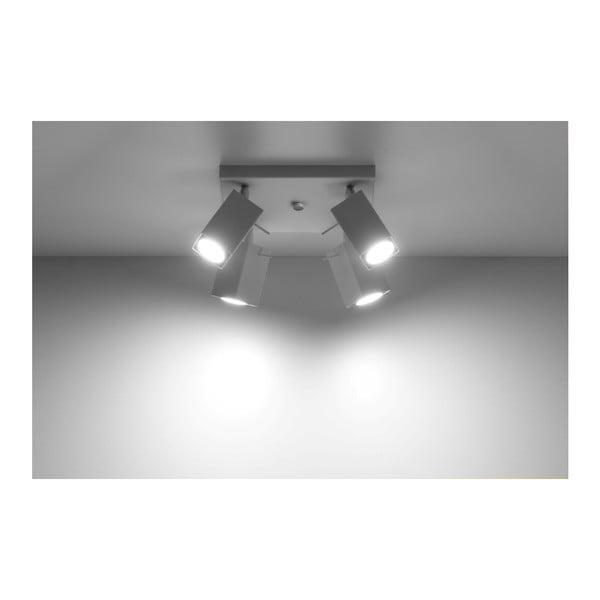 Biała lampa sufitowa Nice Lamps Toscana 4