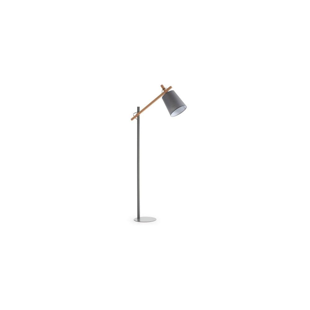 Szara lampa stojąca La Forma Jovik