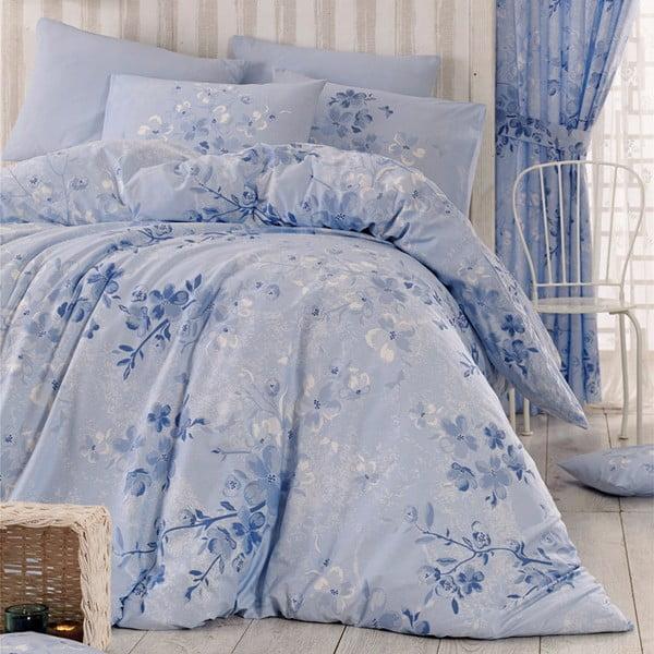 Pościel Elena Blue, 140x220 cm