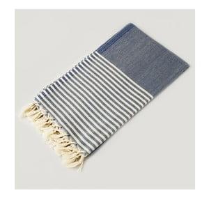 Ręcznik hammam Marine Style Blue, 100x180 cm