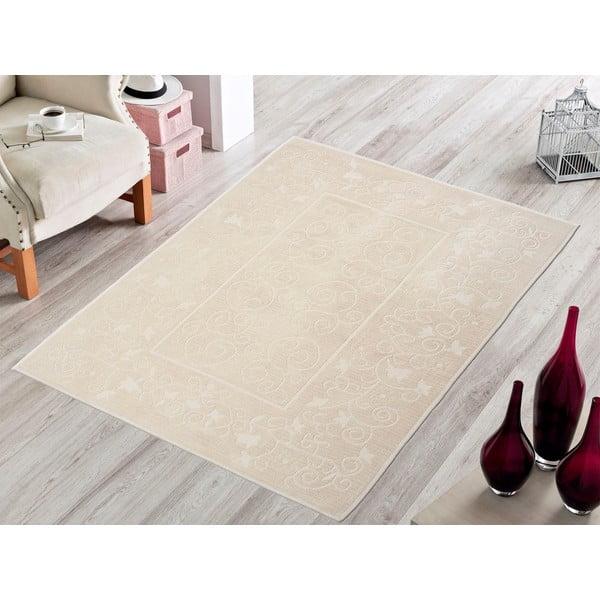 Kremowy wytrzymały dywan Orchidea, 120x180 cm