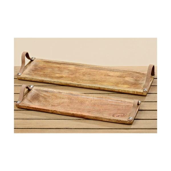 Zestaw 2 tac drewnianych Malus