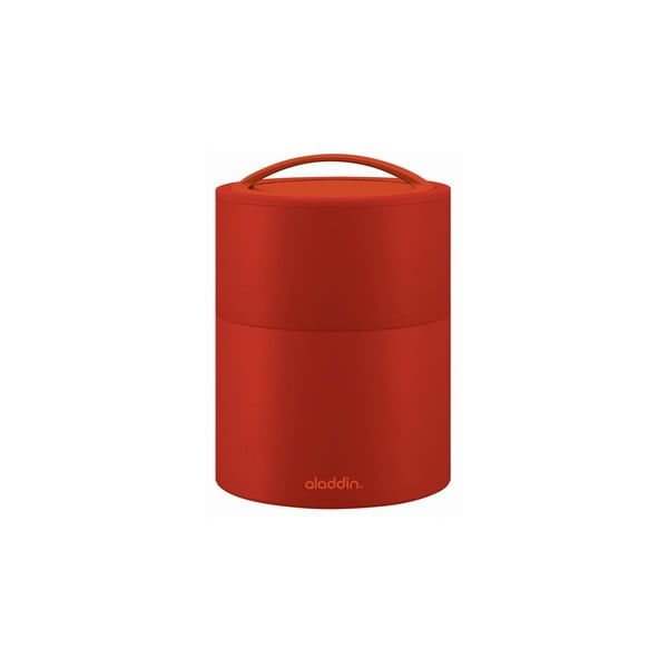 Pojemnik termiczny na obiad Bento 0.95 l, czerwony